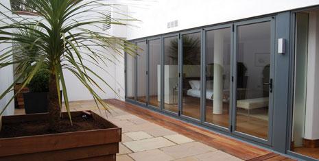 Bifold doors on extension ... & About Us | Folding Doors Direct Ireland